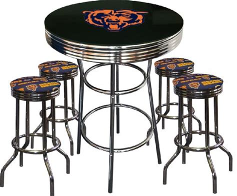bar stools in chicago chicago bears bar stool bears bar stool bears bar stools