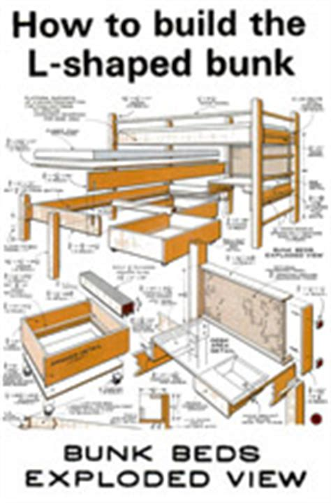 L Shaped Bunk Bed Plans Free Free L Shaped Bunk Bed Plans Pdf Woodworking