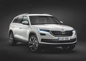 skoda kodiaq 7 seater suv unveiled confirmed for india