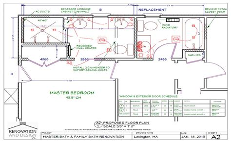 bathroom renovation floor plans ma bathroom remodel design plan renovation