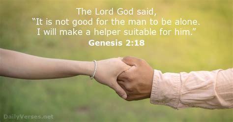 book of genesis 2 18 24 genesis 2 18 bible verse of the day dailyverses net