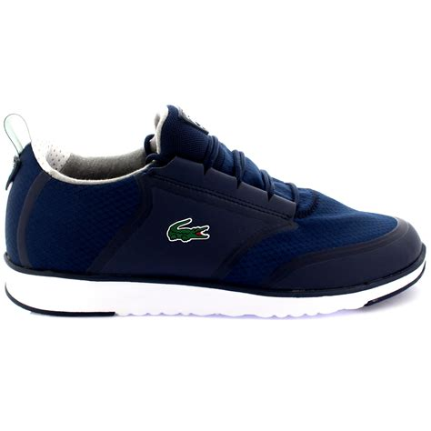 lacoste light sneakers mens lacoste light lt12 lace up lightweight canvas sports