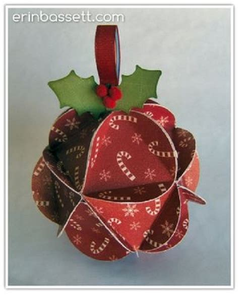 Handmade Paper Ornaments - 50 handmade ornaments ideas cathy