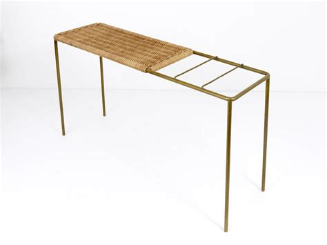 Umbrella Table Stand by Carl Aubock Console Table Umbrella Stand Combination