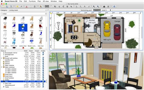 sweet home 3d home design software sweet home 3d on the mac app store