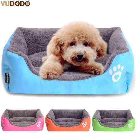backyard pet soft pet home summer rectangle candy colored dogs beds soft warm pet