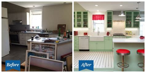 this retro kitchen makeover feels like the world s