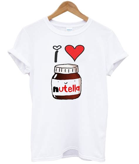 Lova Shirt i nutella t shirt crafterbay