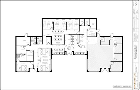 chiropractic office floorplan with open adjusting chiropractic office with semi open adjusting education
