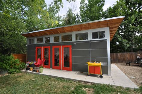 backyard garage designs studio shed photos modern prefab backyard studios
