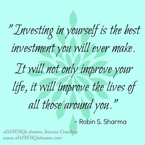 invest in yourself for success