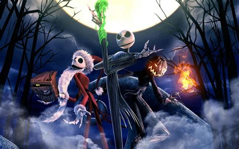 the nightmare before christmas windows 10 theme themepack me