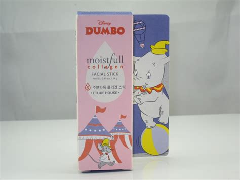 Etude House Dumbo Edition Moistful Collagen Mask Sheet etude house dumbo moistfull collagen stick review musings of a muse