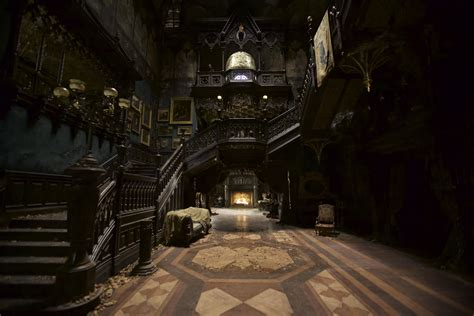 Split Level Style by Crimson Peak Set Design Photos Architectural Digest