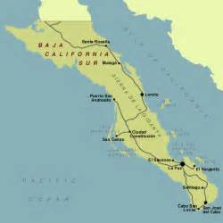 Map Of Baja California Mexico by Baja California Maps Map Of Baja California Sur Maps Of