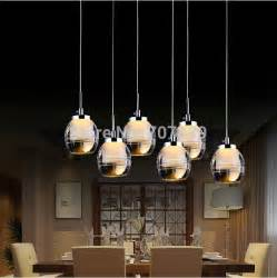 Hanging Light Fixtures For Dining Rooms Aliexpress Buy Led Pendant Light Acrylic Dining Room Lighting Fixture Lustres Home