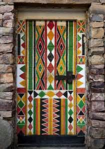 personalizing exterior doors with bold paint colors and