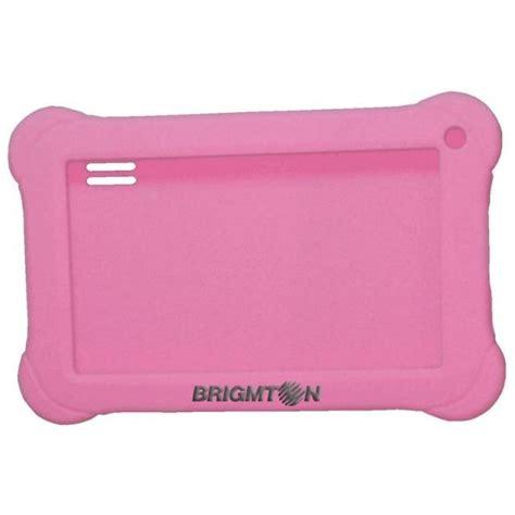 fundas silicona tablet funda brigmton silicona btac71r rosa brigmton funda
