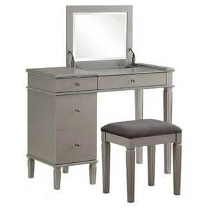 alexanderia silver vanity linon home decor target