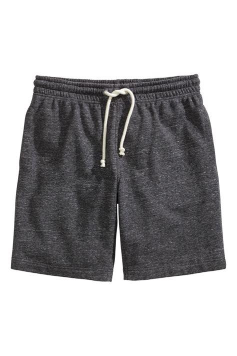 Sweatpant H M Two Tone Black Grey Keren Murah Bagus Baru sweatpant shorts gray sale h m us