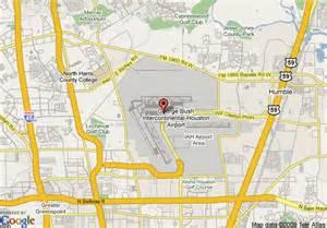 Airports Near Tx Map Of Marriott Houston Airport Houston