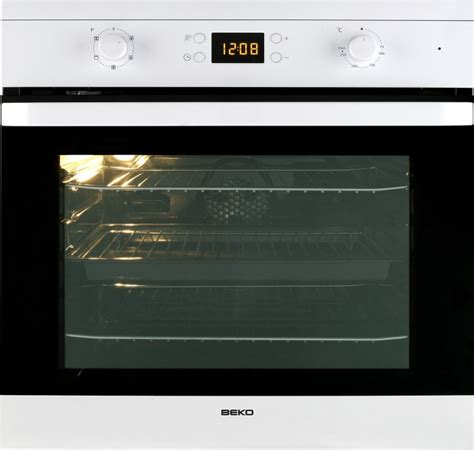 beko oif21300w single built in electric oven white buy