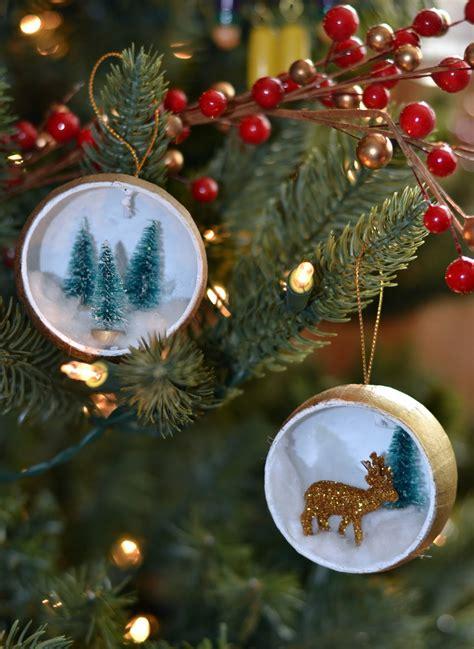 deer  christmas tree ornament rachel teodoro