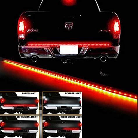 led light strips for trucks e cowlboy 60 white tailgate led light bar truck