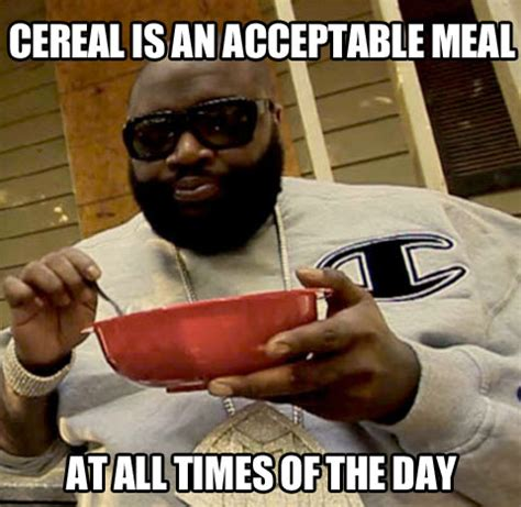Eating Cereal Meme - pin cereal guy eating on pinterest