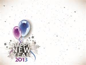 2013 happy new years ppt backgrounds black blue