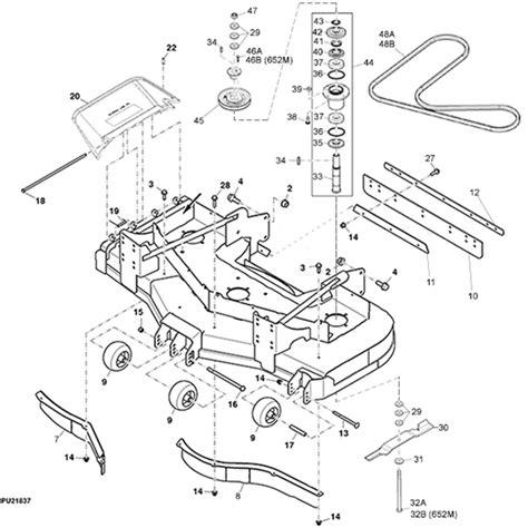 deere deck parts diagram deere lt166 belt diagram html autos post