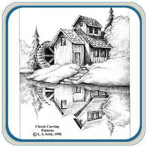 relief landscapes classic carving patterns