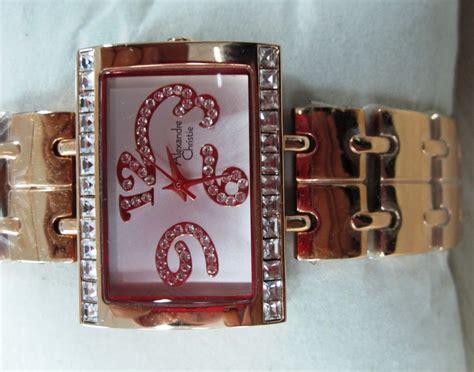 arseniastar jual jam tangan alexandre christie 2095 lh gold original