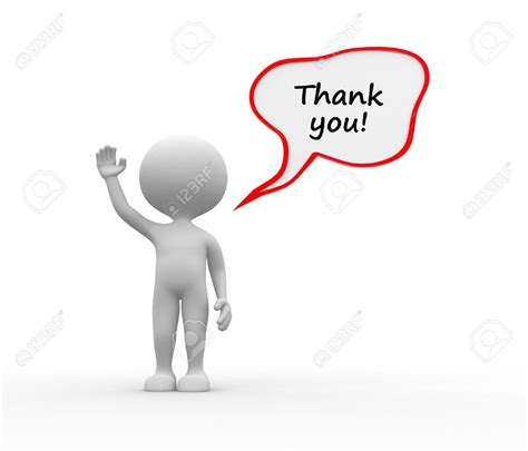 Thank You Letter Gesture gesture clipart thank you pencil and in color