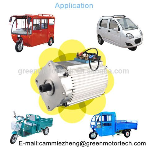 induction motor used in traction 48v 2 2kw 4100rpm asynchronous motor traction motors from foshan shunde green motor technology