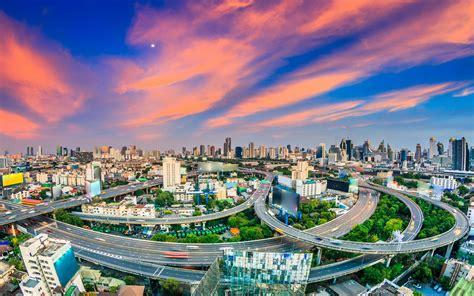 bangkok thai city wallpaper  desktop mobile