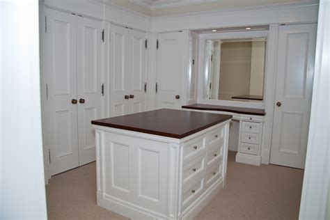 Walk In Closet Island Dresser by Walk In Closet With Make Up Counter And Dresser Island