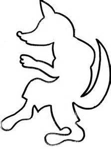Big Bad Wolf Template 19 dessins de coloriage loup maternelle 224 imprimer