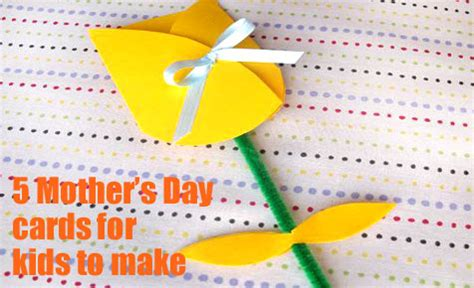 mothers day cards ideas for children to make s day card ideas