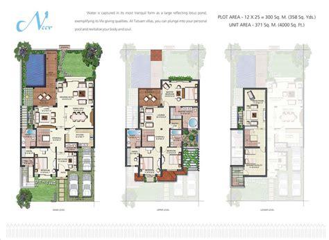Tatvam Villa Layout Plan | vipul tatvam villas in sector 48 gurgaon buy sale