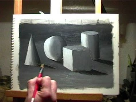 Painting 3d Objects by Painting Lesson 1 How To Paint Basic Shapes