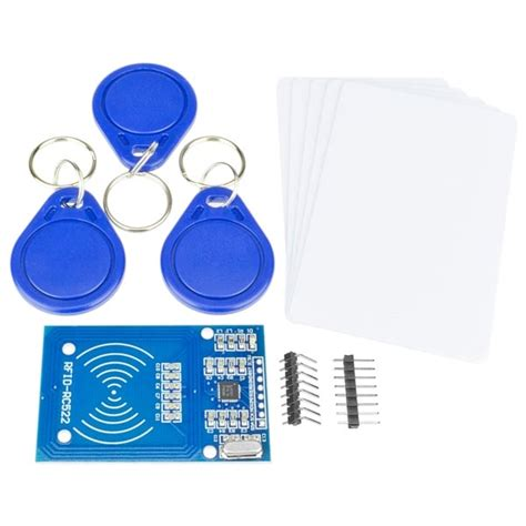 Modul Rfid Rfid Rc522 rfid addikit with rc522 mifare module rfid cards and