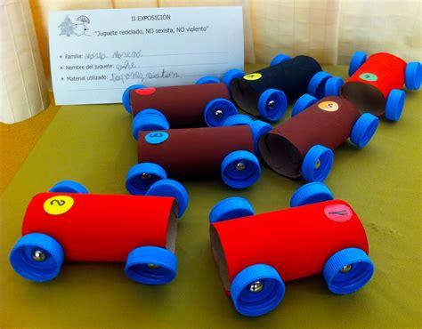 como hacer carrito con material reciclable juguetes ii exposici 243 n juguete reciclado no sexista no violento