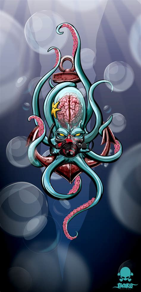 the kraken by gaks designs tentacles daily