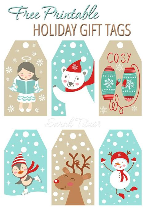 printable children s gift tags the best free christmas printables gift tags holiday