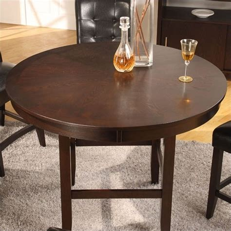 48 Dining Table Set Modus Bossa 5 Piece 48 Inch Round Counter Height Dining