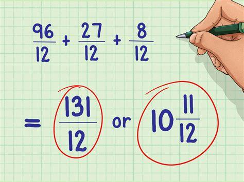 addizionare e sottrarre frazioni con denominatori diversi 4 modi per individuare il minimo comune denominatore