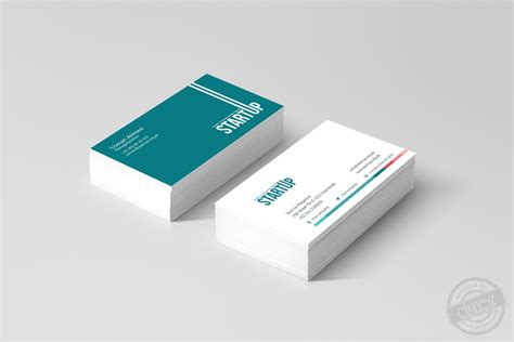 Startup Business Card Design