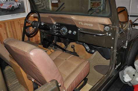 jeep golden eagle interior 1977 jeep cj 7 golden eagle cj7 original survivor levi cj5
