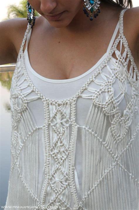 macrame ropa 67 best macrame clothing images on macrame